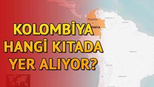 Kolombiya nerede ve haritada hangi kıtada yer alıyor
