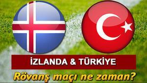 Türkiye-İzlanda rövanş maçı ne zaman oynanacak