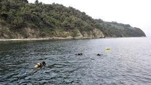 30 balık adam, kayıp iş adamı Serdar Sincan için daldı