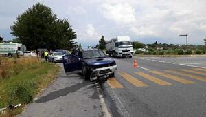 Aydında otomobil ile kamyonet çarpıştı: 1 ölü, 5 yaralı