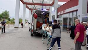 Yem fabrikasında patlama ve yangın: 1i ağır 2 yaralı