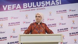 Emine Erdoğan: Türkiyeye tüm dünyanın ihtiyacı var