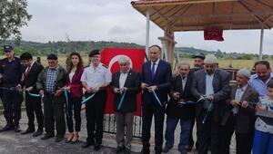 Nallıhanda Şehitler Anıtı Çeşmesi açıldı