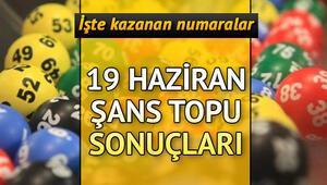 Şans Topuda büyük ikramiye sahibini buldu MPİ 19 Haziran Şans Topu sonuç sorgulama ekranı