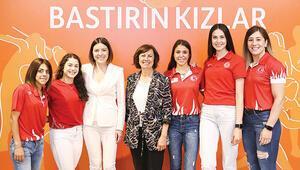 Bastırın kızlar ING Türkiye ve Olimpiyat Komitesi kadın sporcuları birlikte destekliyor