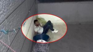 Polisten kaçarken balkondan atladı bacağı kırıldı