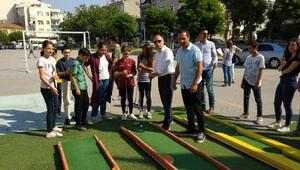 Erdeke mini golf sahası