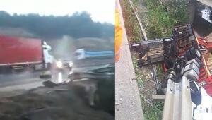 Adanada inanılmaz kaza Tam o an
