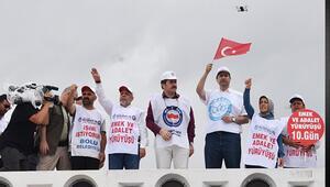 Emek ve Adalet Yürüyüşüne Memur-Sen'den destek