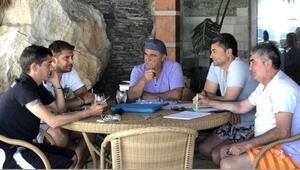 Galatasaraydan Bodrumda transfer zirvesi Fatih Terim...