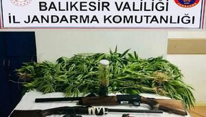 Balıkesirde uyuşturucu ticaretine 2 gözaltı