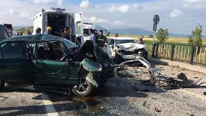 Beyşehirde kaza: 2 ölü, 3 yaralı