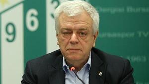Bursaspor Başkanı Ali Aydan temlik açıklaması