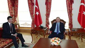 Son dakika... Cumhurbaşkanı Erdoğan, Barzaniyi kabul etti