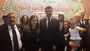 Sultangazide 60 Kıbrıs Gazisine Milli Mücadele Madalyası verildi
