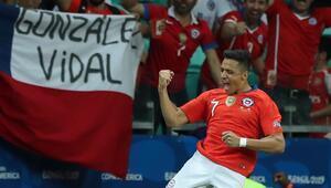 Şili, çeyrek finali garantiledi