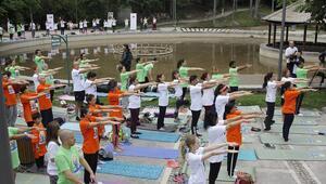 Seğmenler'de  yoga buluşması