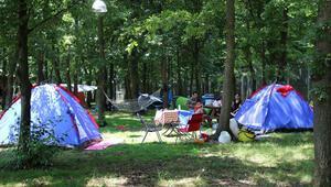 Yabancı kampçıların gözde mekanı oldu Akın akın oraya gidiyorlar
