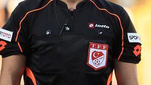 TFF 1. Ligde 2. haftanın hakemleri açıklandı