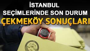 23 Haziran Çekmeköy seçim sonuçları İstanbul seçimlerinde Çekmeköy'de kim önde