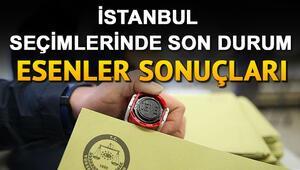 23 Haziran İBB seçimlerinde Esenler'de kim kazandı İstanbul seçimlerinde Esenler sonuçları