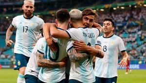 Messili Arjantin, çeyrek finalde