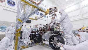 NASAnın keşif robotuna yeni tekerlekleri takıldı
