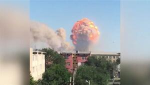 Kazakistanda silah deposunda patlama