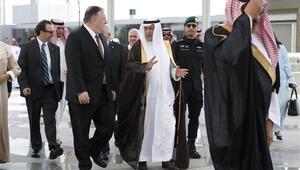 Pompeo İran sebebiyle Suudi Arabistanda