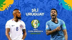 Copa America C Grubunda liderlik maçı Şili kazanırsa...
