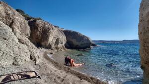 Türkiye'nin saklı cenneti Her yer sessiz sakin, burada deniz tatili bir başka güzel…