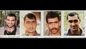 Tuncelide PKKya büyük darbe Biri turuncu 3ü gri listede...
