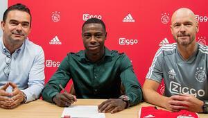Ajax, Promesu transfer etti