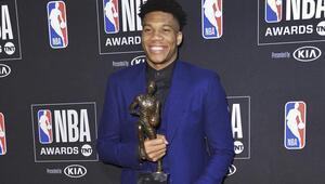 NBAde normal sezonun MVPsi Giannis Antetokounmpo seçildi