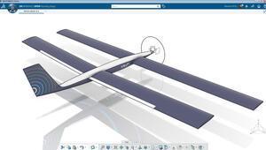 İlk Güneş enerjili İHA prototipini ortaya çıkardı