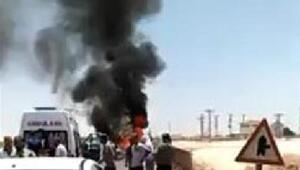 Viranşehirde otomobiller çarpıştı: 9 yaralı