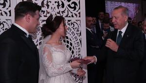 Cumhurbaşkanı Erdoğan, Rıza Kayaalpin nikah şahidi oldu
