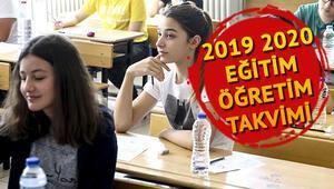 Okullar ne zaman açılacak MEB 2019 2020 eğitim öğretim takvimi