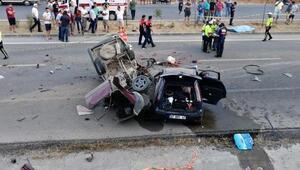 Fethiyede feci kaza : 2 ölü, 6 yaralı