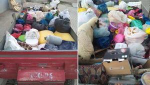 PKKya bir traktör dolusu yaşam malzemesi götürürken yakalandılar