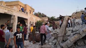 İdlibe hava saldırısı