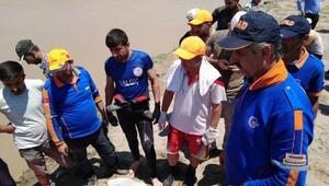 Nehirde kaybolan Salihin cansız bedeni bulundu