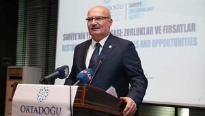 Suriye'nin inşasında  Türkiye de bulunmalı