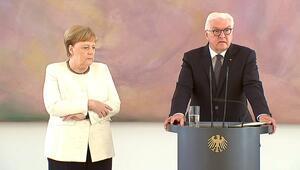 Almanya Başbakanı Angela Merkel yine korkuttu