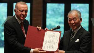 Son dakika... Cumhurbaşkanı Erdoğana Japonyada fahri doktora