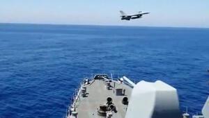 F-16, Fatihi selamladı