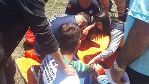 Cirit alanında talihsiz kaza
