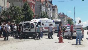 Sarayda kaza: 3 yaralı