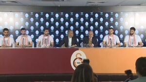 Galatasaray 7 oyuncuyla sözleşme imzaladı