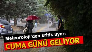 Nerelere yağmur yağacak 5 günlük hava durumu tahminleri